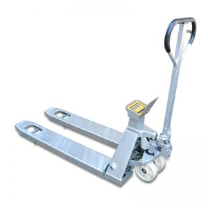 ZFS20S Stainless steel mobile weighing cart