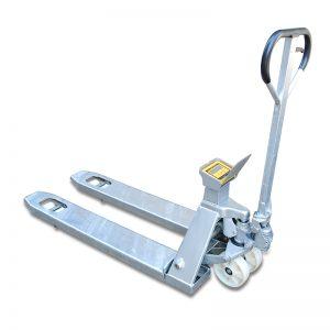 Mobilni voziček za tehtanje iz nerjavečega jekla