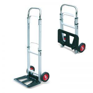 AT90 Prenosni aluminijasti zložljivi voziček za prevoz tovornjakov za tovorne vreče