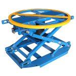 QAL1000 pnevmatična vrtljiva dvižna miza